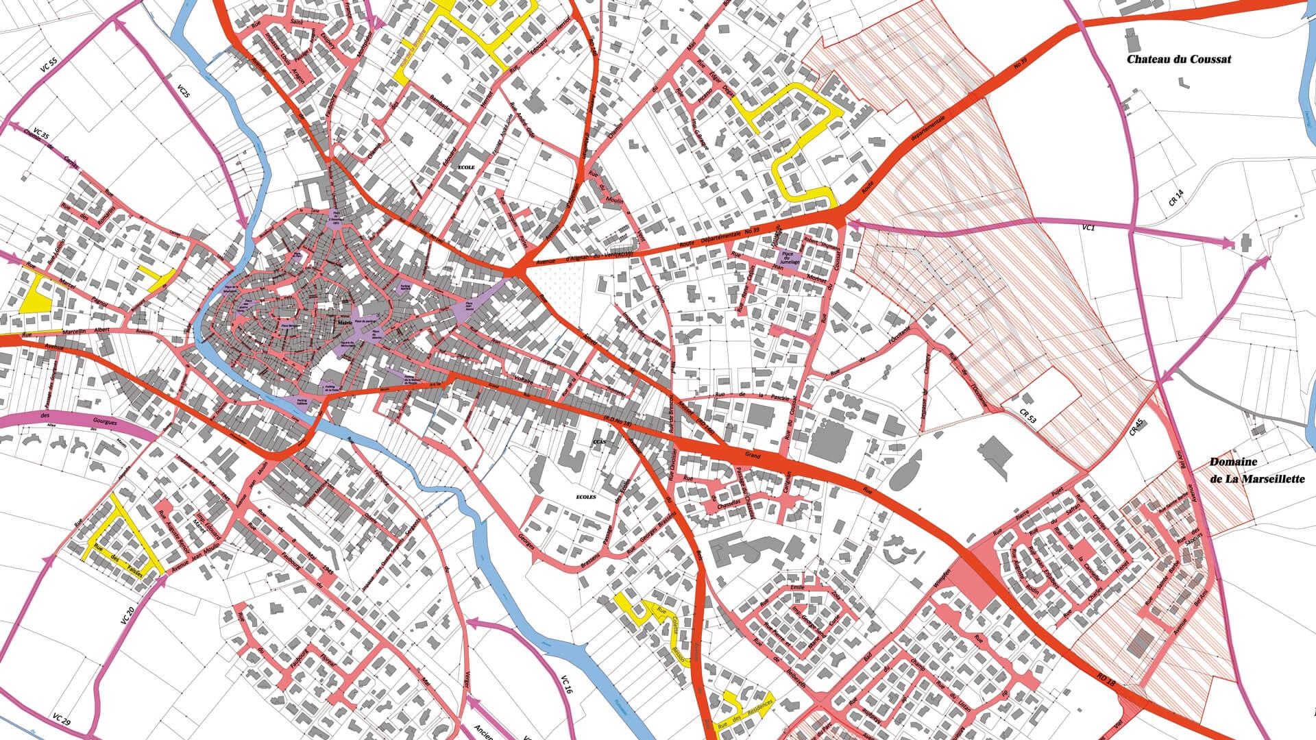 BETU | Urbanisme à Béziers | Réorganisation de la voirie communale